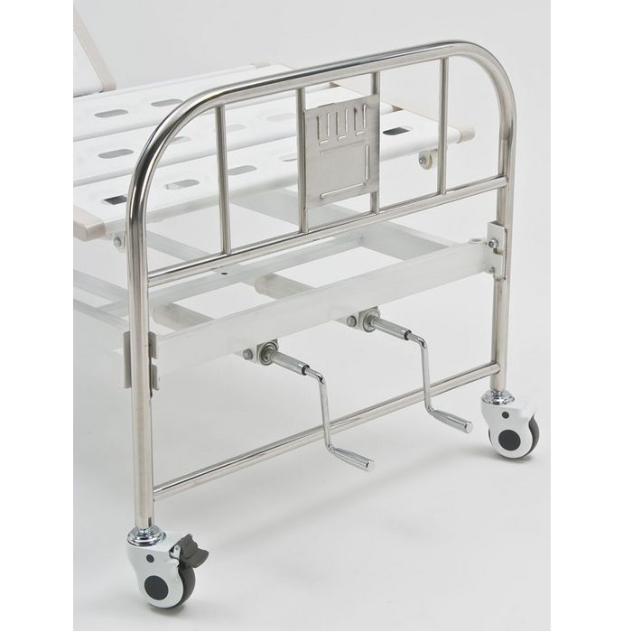 Кровать функциональная механическая Armed RS104-A со спинками из нержавеющей стали