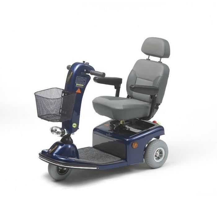 Кресло-коляска скутер электрическая для инвалидов Vermeiren Saturnus 3