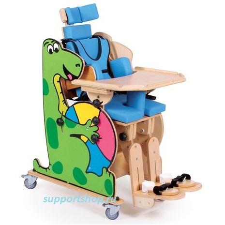 Реабилитационный стул Дино для детей с дцп (кресло многофункциональное для детей, модель BINGO)