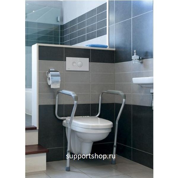 Алюминиевое ограждение для безопасности в туалете PT70203