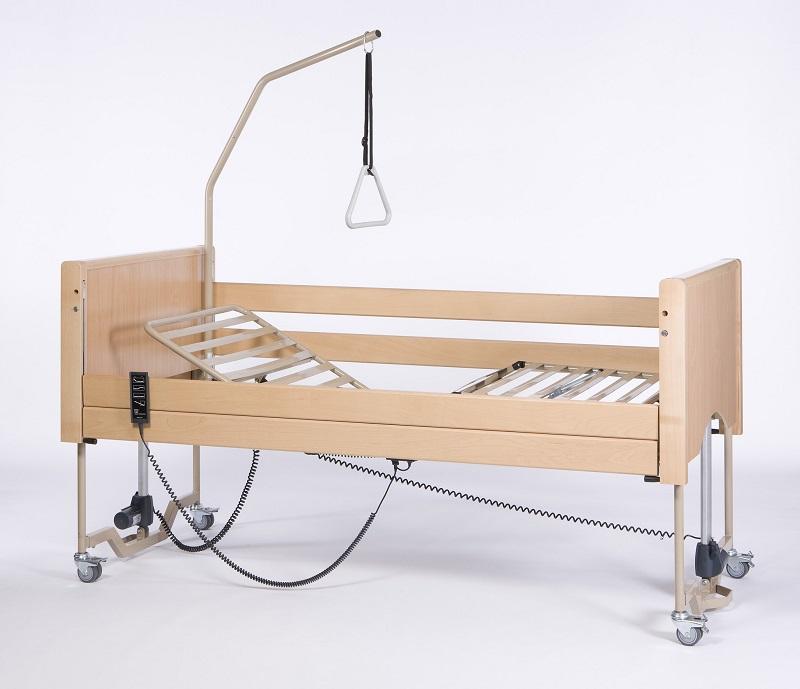 Кровать функциональная 4-х секционная электрическая LUNA X-low (в комплекте с матрасом)