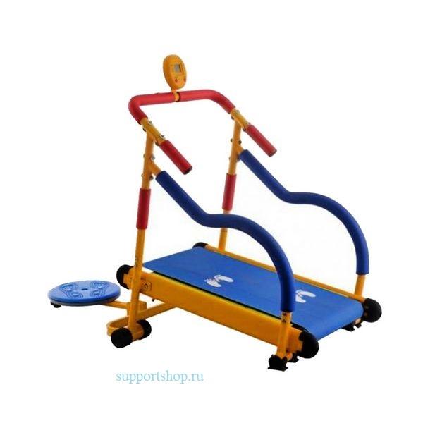 Детский тренажер беговая дорожка Kids Treadmill JD01 с диском-твист