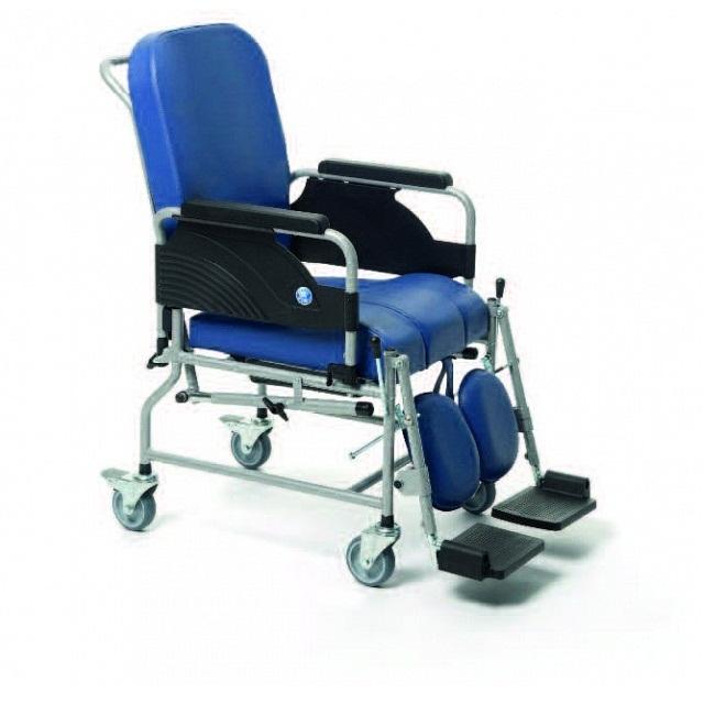 Кресло-коляска Vermeiren 9303 санитарным оснащением