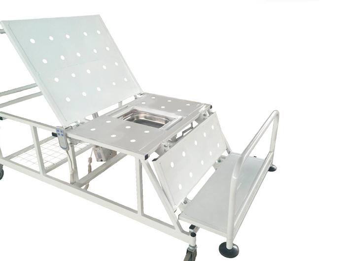 Кровать медицинская функциональная Belberg 4-02 кардио-кресло с санитарным оснащением