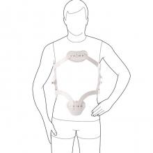 28R15 Рамочный гиперэкстензионный ортез Hyperextension Orthosis