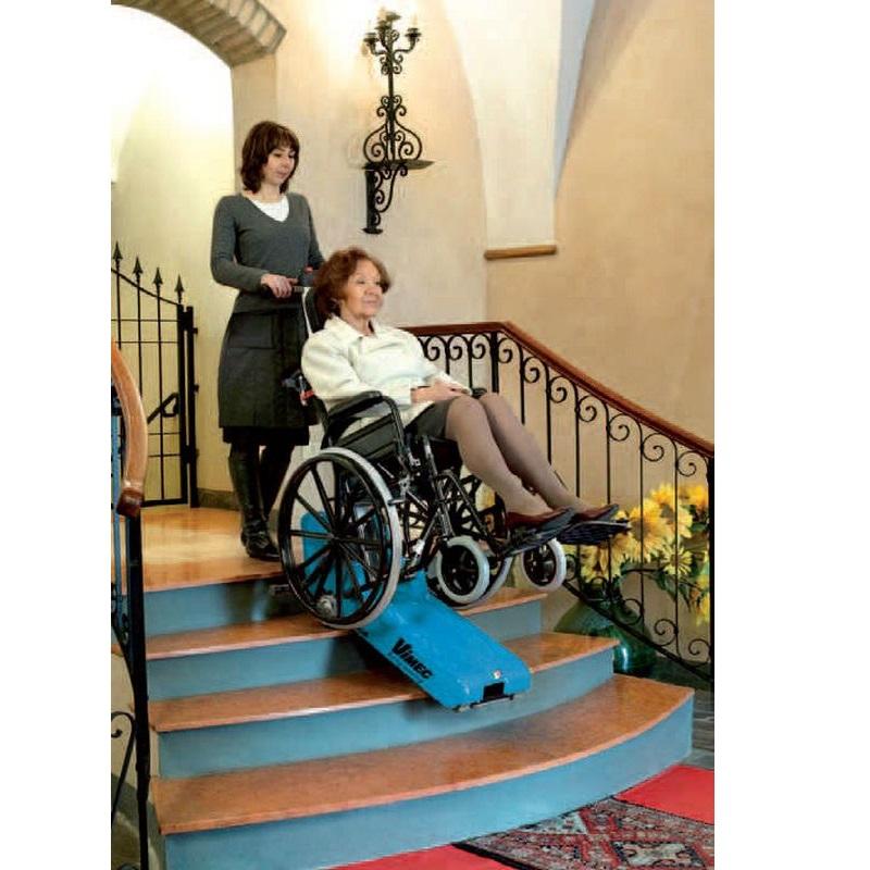 Мобильный гусеничный подъемник для инвалидов Vimec Т09 ROBY STANDART