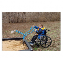 Экскаватор песочный специальный для детей кресло-колясках