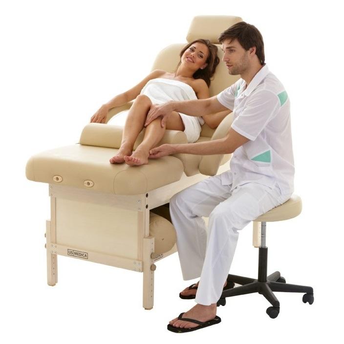 Стационарный массажный стол US MEDICA BALI