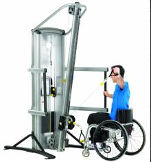 Колонна с тросами для инвалидов