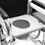 Кресло-коляска (туалет) узкая LY-250-683