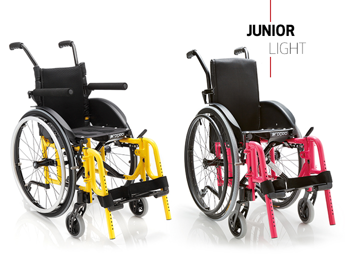 Кресло-коляска активного типа Progeo Junior Light