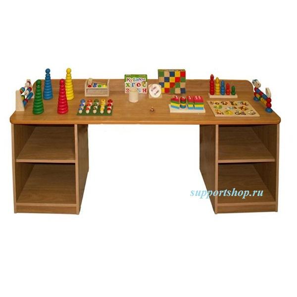 Дидактический стол c набором игрушек