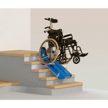 Гусеничный лестничный подъемник для инвалидной коляски Ideal