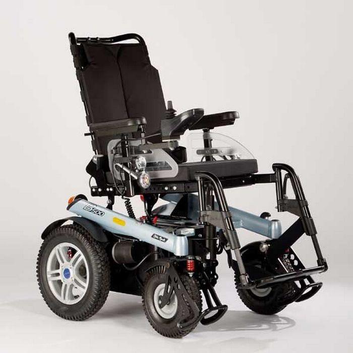 B-500 инвалидная коляска с электроприводом прогулочная