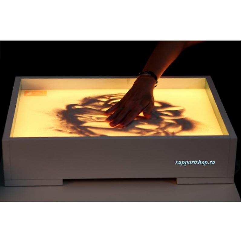 Световой стол для рисования песком с крышкой
