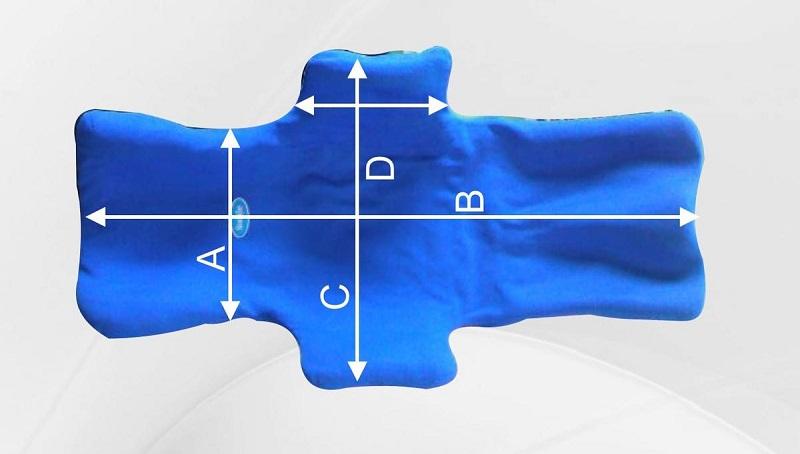 Подушка ортопедическая Stabilo CONFORTABLE PLUS DUO (Функционально-корригирующий корсет)