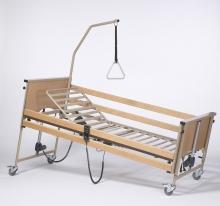 Кровать функциональная 4-х секционная электрическая Vermeiren Luna Basic с матрасом