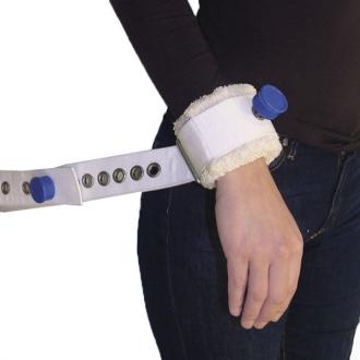 Фиксирующий ремень для запястья с магнитным замком с креплением к кровати Orliman 1014