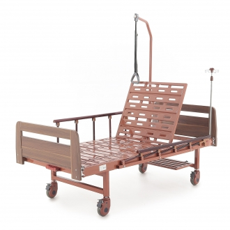 Медицинские кровати с механическим приводом Med-Mos E-17B (ММ-1024Д-04)