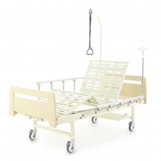 Кровать механическая Мед-Мос Е-8 (MМ-2024Д-00) ЛДСП (2 функции)
