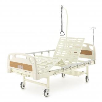 Медицинские кровати с механическим приводом Med-Mos Е-8 (MМ-2014Д-00) (2 функции)