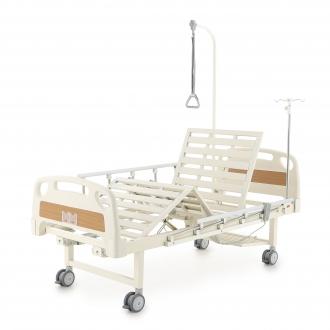 Кровать электрическая Med-Mos DB-7 (MЕ-2018Н-00) (2 функции) с полкой и накроватным столиком