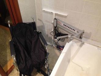 Электрический подъемник для ванной комнаты