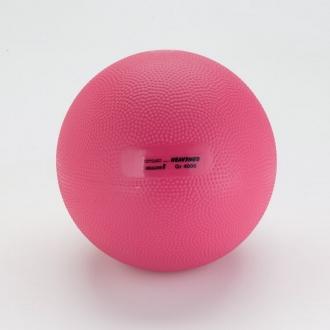 Мяч утяжеленный HEAVYMED 4 кг, диам. 20 см, малиновый