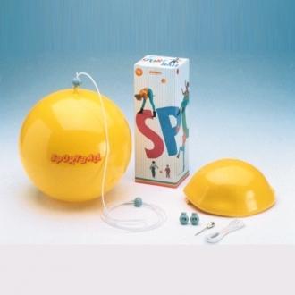 Мяч на веревке SPORTBALL, диам.20 см