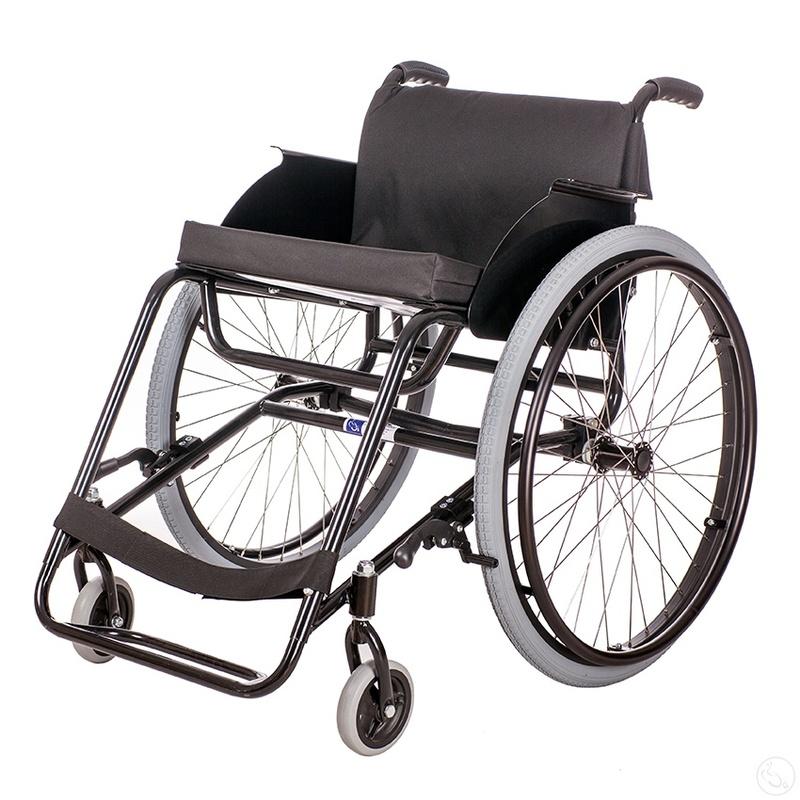 Кресло-коляска активного типа с рамой из стали Катаржина Пикник «Стандарт»