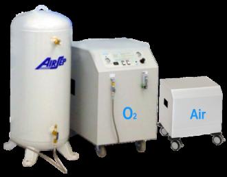 Кислородный концентратор AirSep AS072 Reliant Plus (с медицинским воздухом)
