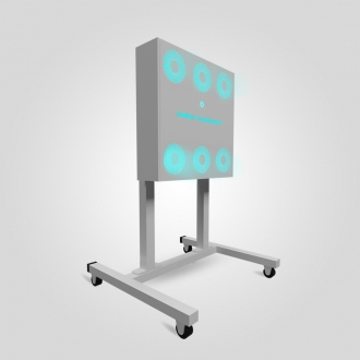 Рециркулятор Purge Technology 009 Пантера (Белый, Черный)