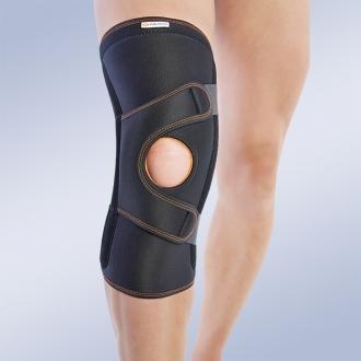 Ортез коленный со спиральными ребрами жесткости Orliman 7117