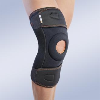 Окутывающий коленный ортез с полицентрическими ребрами жесткости Orliman 7120