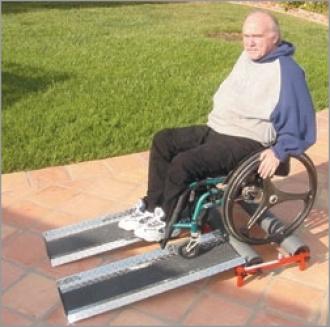 Беговая дорожка для занятий в кресле-коляске
