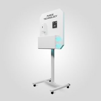 Рециркулятор Purge Technology 012 Стенд Дабл (Белый, Черный)