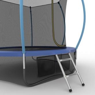 Батут с внутренней сеткой и лестницей EVO JUMP Internal 10ft (Blue) + Lower net
