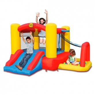 Детский надувной Батут игровой центр 4 в 1 HAPPY HOP 9450