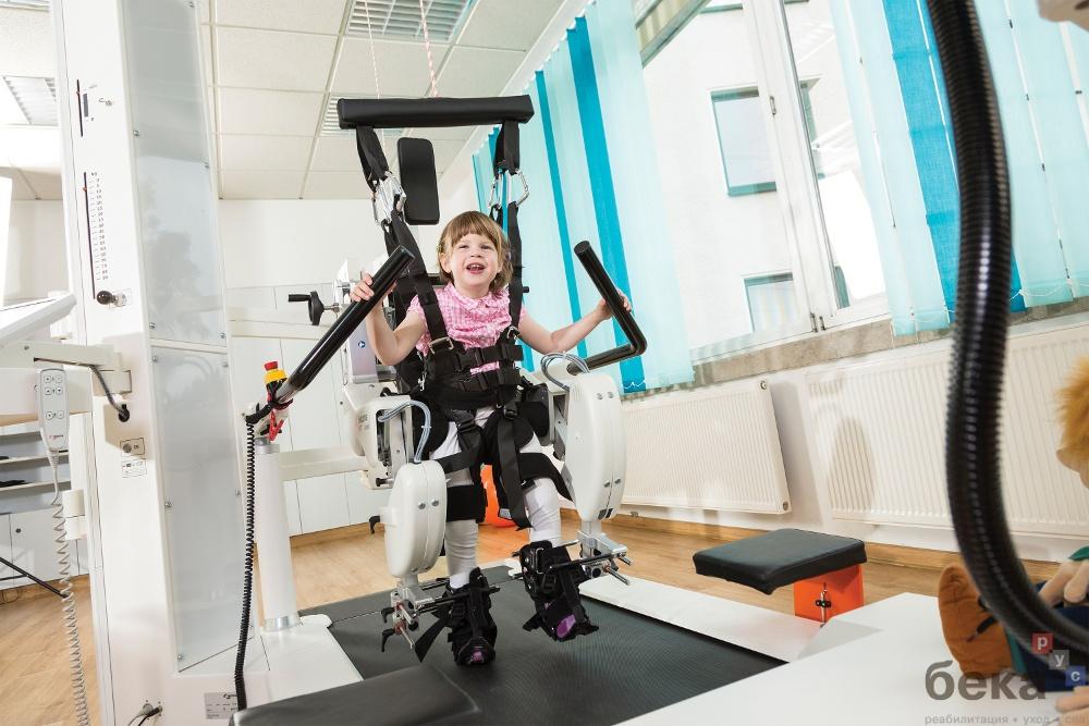 Уникальный реабилитационный комплекс для детей с ДЦП LokomatPro Pediatric
