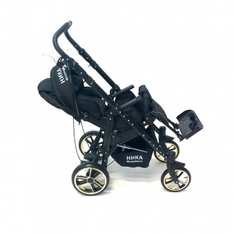 Детская инвалидная кресло-коляска Ника-04 плюс