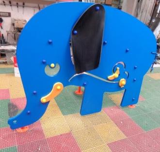 Игровой элемент Слон для развития тактильных навыков