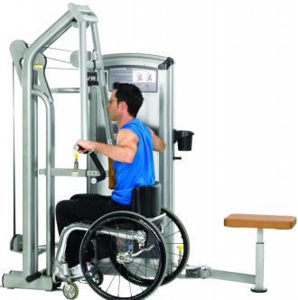 Горизонтальная тяга для инвалидов