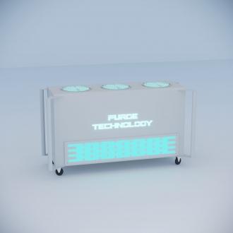 Промышленный рециркулятор PТ-015 Смерч (Белый, Черный)