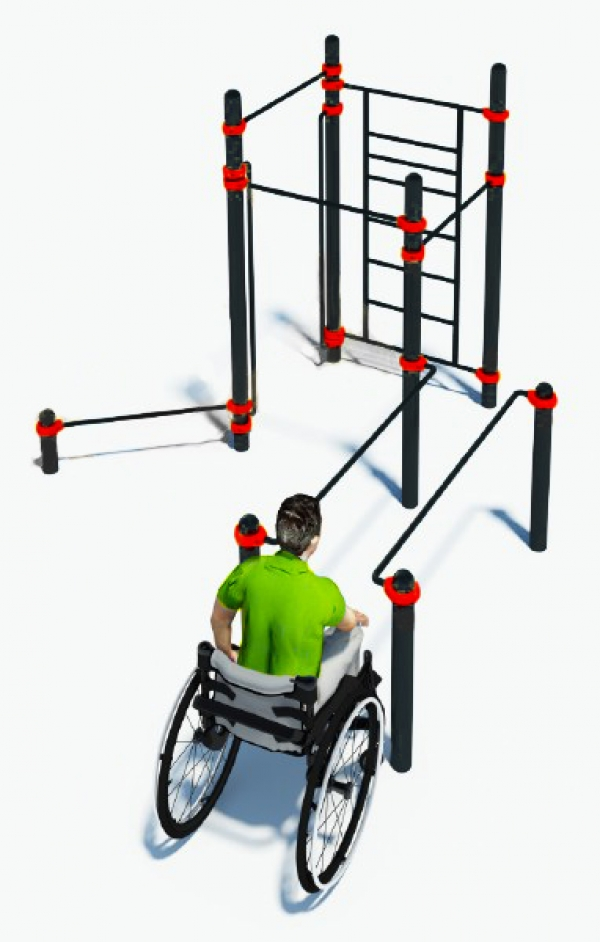 Комплекс для инвалидов-колясочников VICTORY W-7.05
