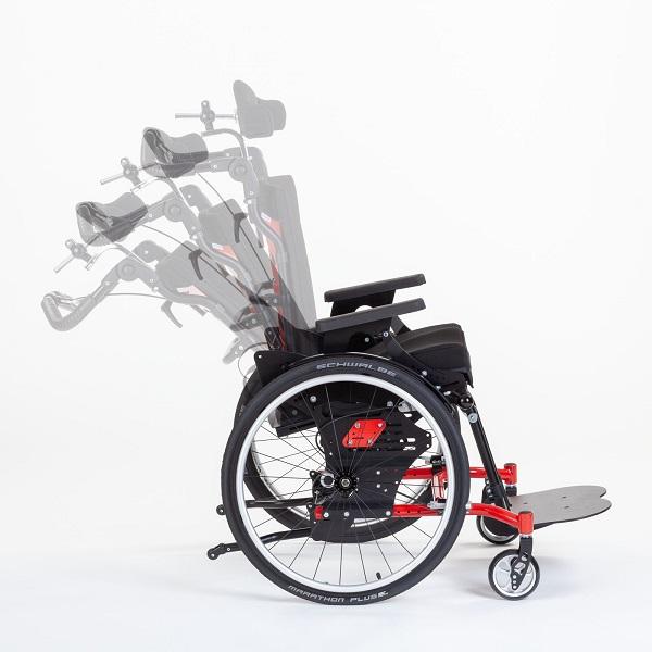 Активная детская коляска HOGGI SWINGBO-VTi для детей и подростков с ДЦП