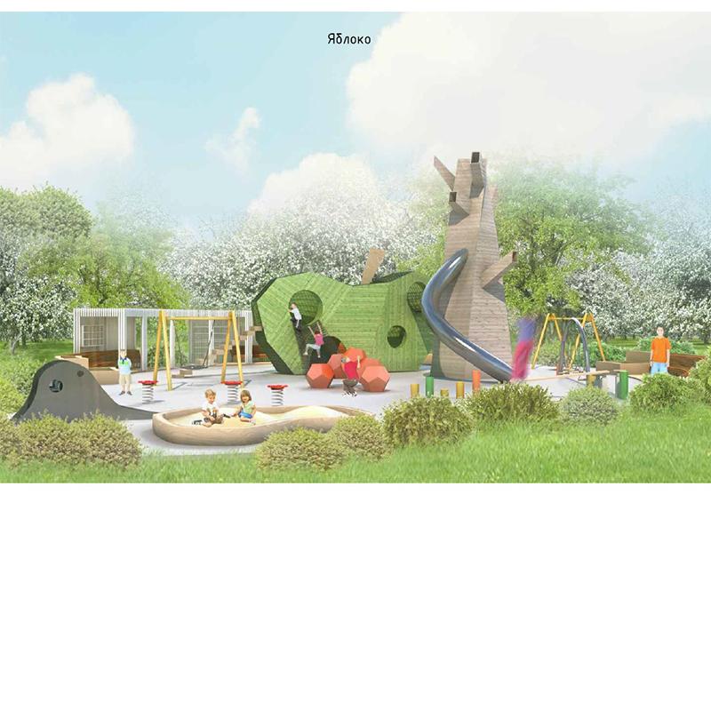 """Детская площадка """"Яблоневый сад"""""""