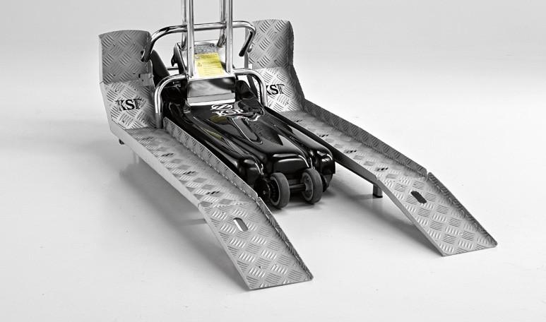 Лестничный подъемник для инвалидов наклонного перемещения (гусеничный) K.S.P. Sherpa N 902