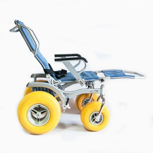 Кресло-коляска инвалидная пляжная Модель BW-200 QUATTRO