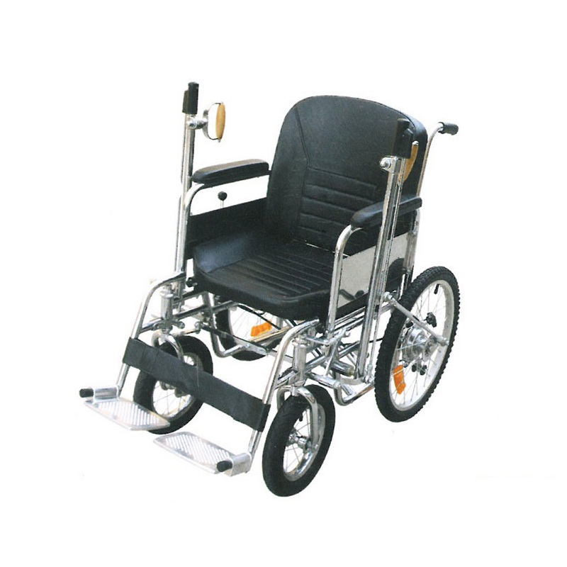 Кресло-коляска инвалидная с ручным рычажным приводом LY-250-990