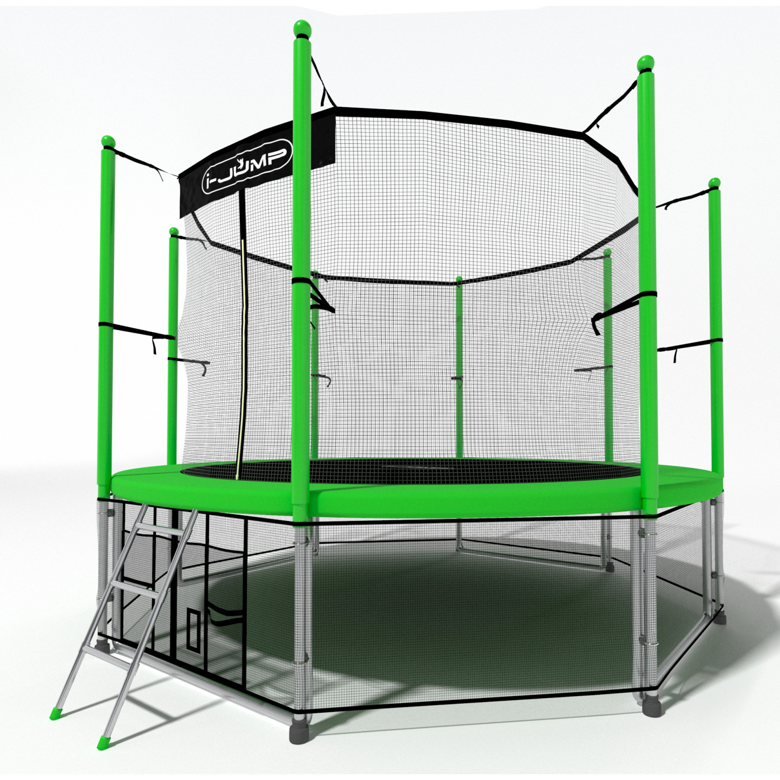 Батут I-Jump 12FT Green